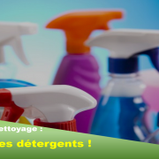 Les produits nettoyage détergents